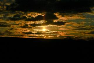 tramonto babbini nuvole